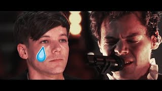 LOUIS TOMLINSON IS EMOTIONAL AFTER WATCHING HARRY STYLES PERFORMING TWO GHOST