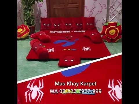 Karpet Karakter Spiderman Batman Superman Harga Grosir Asli Buatan Semarang Mas Khay