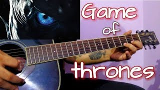 Game Of Thrones Theme - Easy Guitar Tabs Lesson In Hindi
