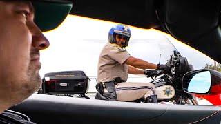 CALIFORNIA POLICE VS COCKY LAMBORGHINI OWNER!