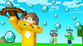 I Found A CROSSBOW That  SPAWNS DIAMONDS! (Minecraft)