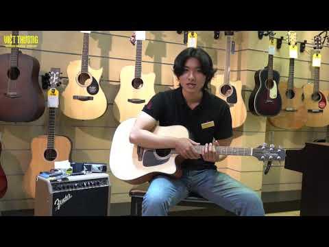 Review chi tiết đàn guitar Takamine ED1DC NS