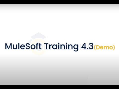 MuleSoft Training   Mule 4   Mule ESB Certification Course ...