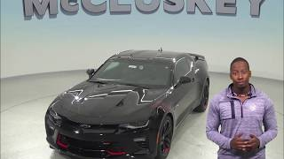 183614   New, 2018, Chevrolet Camaro, SS, Test Drive, Review,