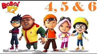BoBoiBoy (English) -  Season 1 Episode 4, 5 & 6