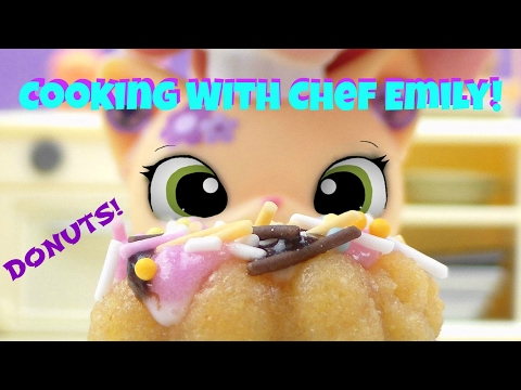 LPS- Cooking With Chef Emily | Episode #2 | (DONUTS!!)