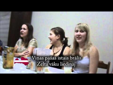 Riga Dimd - Latvian folk song - Ceiruleits