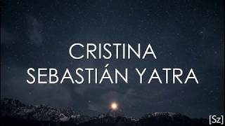 Sebastian Yatra   Cristina (Letra)