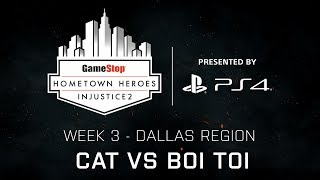 Injustice 2 - Cat vs Boi Toi - GameStop Hometown Heroes Week 3