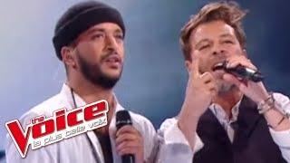 The Voice 2016 | Slimane et Christophe Maé - ça fait mal (Christophe Maé) | Finale