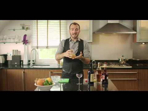 Charles Joly (USA) – Twist on a classic cocktail – 'Improved Blood & Sand'