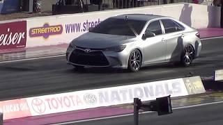 Hot Rod Sleeper Toyota Camry 2016 Toyota Nationals