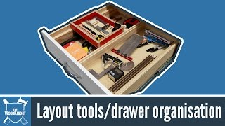 121 - Layout Tools/Drawer Organisation