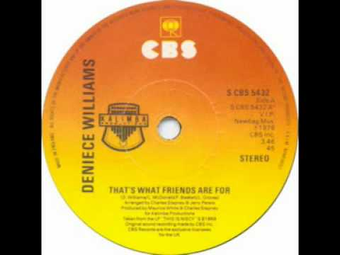 Deniece Williams - That's What Friends Are For (SINGLE EDIT)
