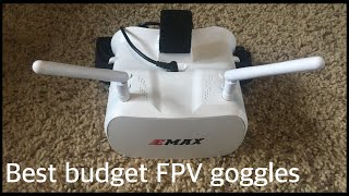 Best budget FPV goggles (from amazon) | EMAX FPV goggles