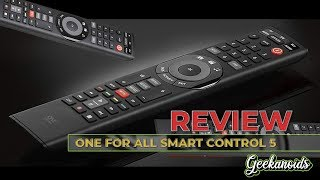 One For All Smart Control 5 Remote Control Review