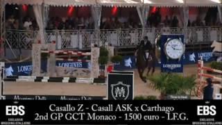 Casallo Z – 2nd place 1m60 Grand Prix GCT Monaco – Jump-Off