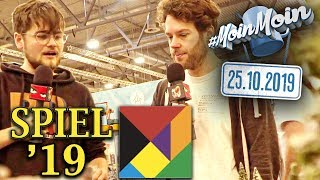 Live von der SPIEL - Gesellschaftsspiele en masse | MoinMoin mit Florentin & Fabian
