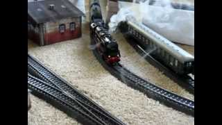 The Whistling Smoking Locomotive