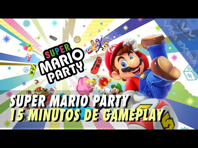 Super Mario Party - 15 minutos de gameplay en Nintendo Switch