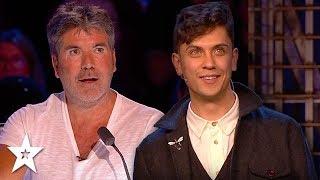 Magician Amazes Simon Cowell on Britain's Got Talent & The Champions   Got Talent Global