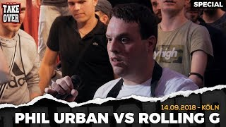 Rolling G Vs. Phil Urban | Surprise Acapella Match | TopTier Takeover