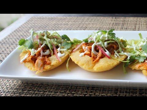 Puffy Tacos – How to Make Puffy Taco Shells – Crispy Fried Taco Shell Recipe