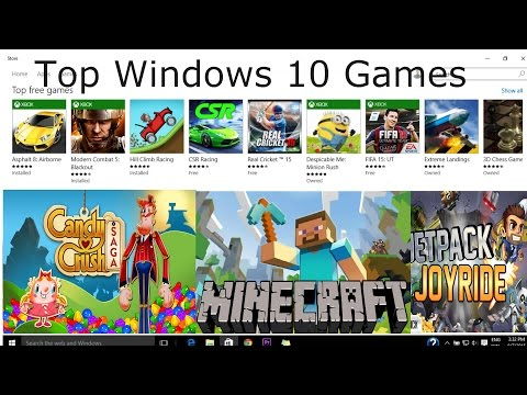Top 10 Free Games on Windows Store for Laptop / Pc - Windows 8.1 and 10 (OS)