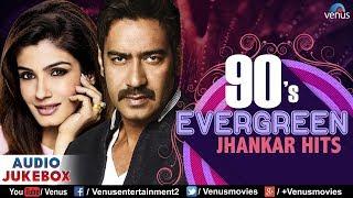 90's Evergreen Jhankar Hits | Bollywood Romantic   - YouTube