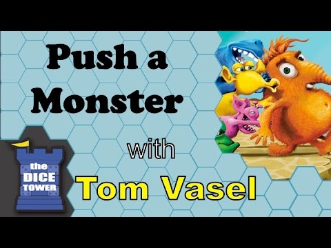 Dice Tower Reviews: Push a Monster