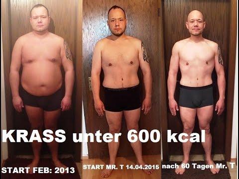 Wie für 3 Wochen auf 20 Kilogramme abzumagern