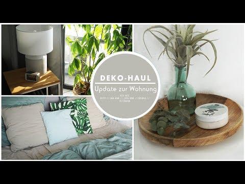 DEKO HAUL / WOHNUNGSTOUR Update | Schlafzimmer Ikea Haul Depot Amazon H&M Zara Home | Jucepauline