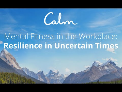 Mental Fitness in the Workplace