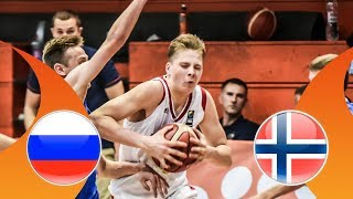 Russia v Norway - Full Game - FIBA U16 European Championship Division B 2018