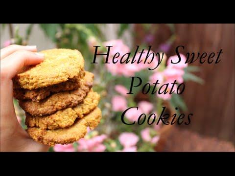 Healthy Sweet Potato Cookies - Gluten Free & Vegan Recipe