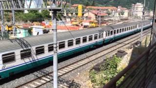 preview picture of video 'InterCity 663 XXmiglia-Milano C.le @Ronco Scrivia'