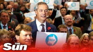 Nigel Farage Unveils 600 Brexit Party Candidates For The Election