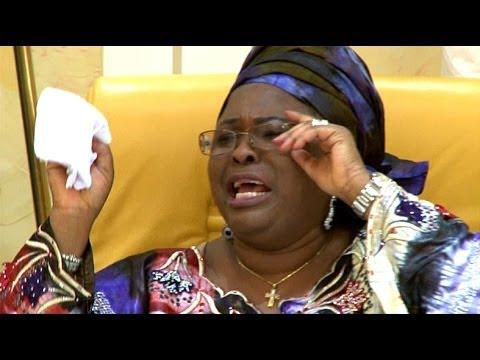 Chibok Girls: First Lady Breaks Down In Tears