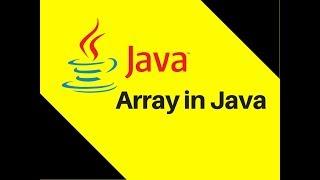6.2 Array in Java Tutorial