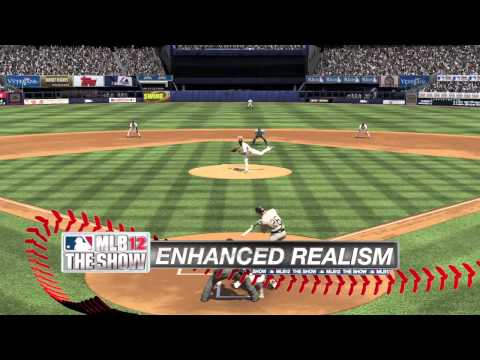 The First MLB 12 The Show Trailer Swings For The  Fences, Teases Vita Integration