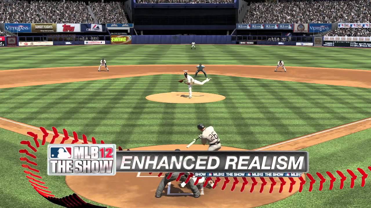 MLB 12 The Show First Look Trailer!
