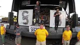 SECRETS - Maybe Next May - Warped Tour 2014 - Nashville, TN