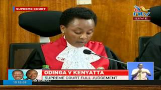 Presidential results were dubious - Supreme Court