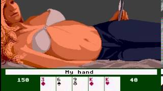 Artworx Strip Poker, Atari ST - Suzi (1987)