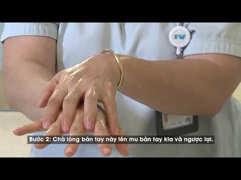 Cách rửa tay khô bằng dung dịch nước rửa tay