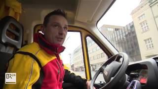 Ein Tag Mit Dem DHL Paketdienstfahrer Im Vorweihnachts Stress | BR24
