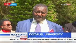 Students report to Koitalel University