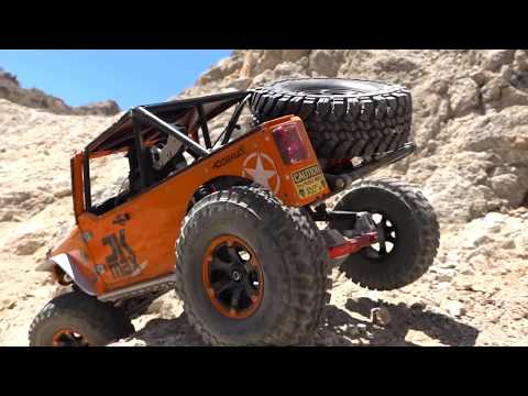 FiRST ROLL OVER! CLIMB The CALiFORNiA ROCKS - JK MAX CAPO 2018 JEEP | RC ADVENTURES