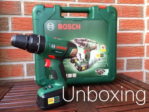 Unboxing Bosch PSB 18 Li-2