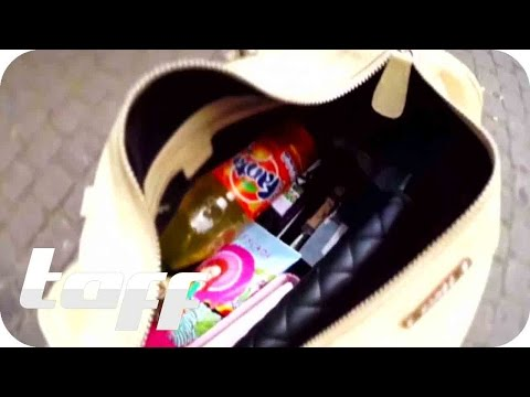 What's in my bag? - Bakterienschleuder Handtasche | taff